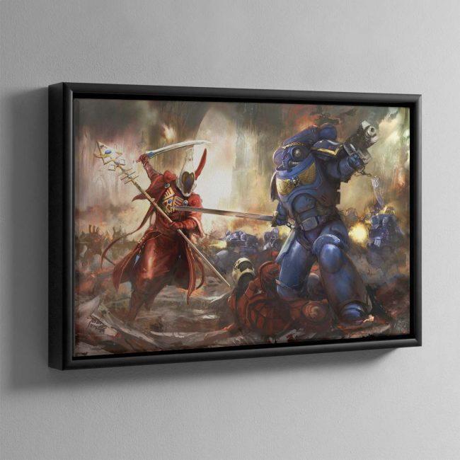 Wake the Dead – Framed Canvas