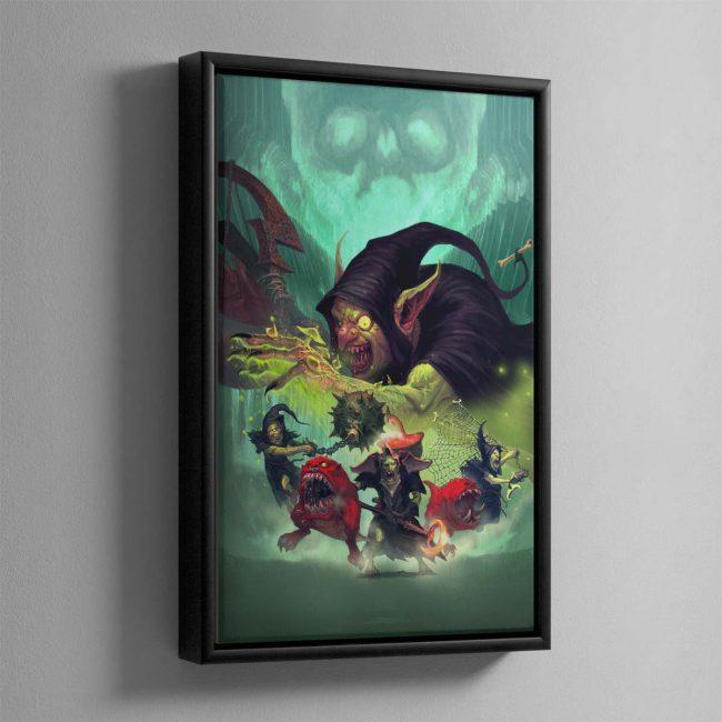 Zarbag's Gitz – Framed Canvas