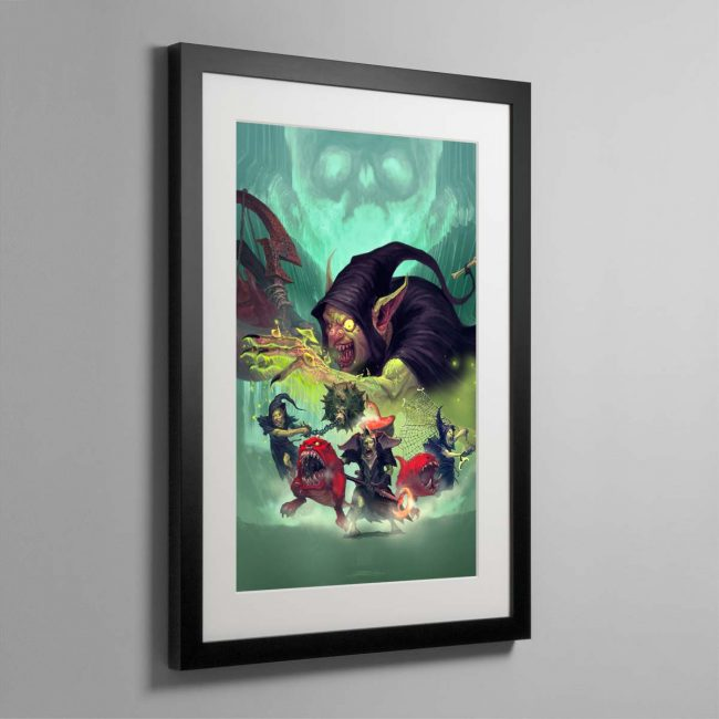 Zarbag's Gitz – Framed Print