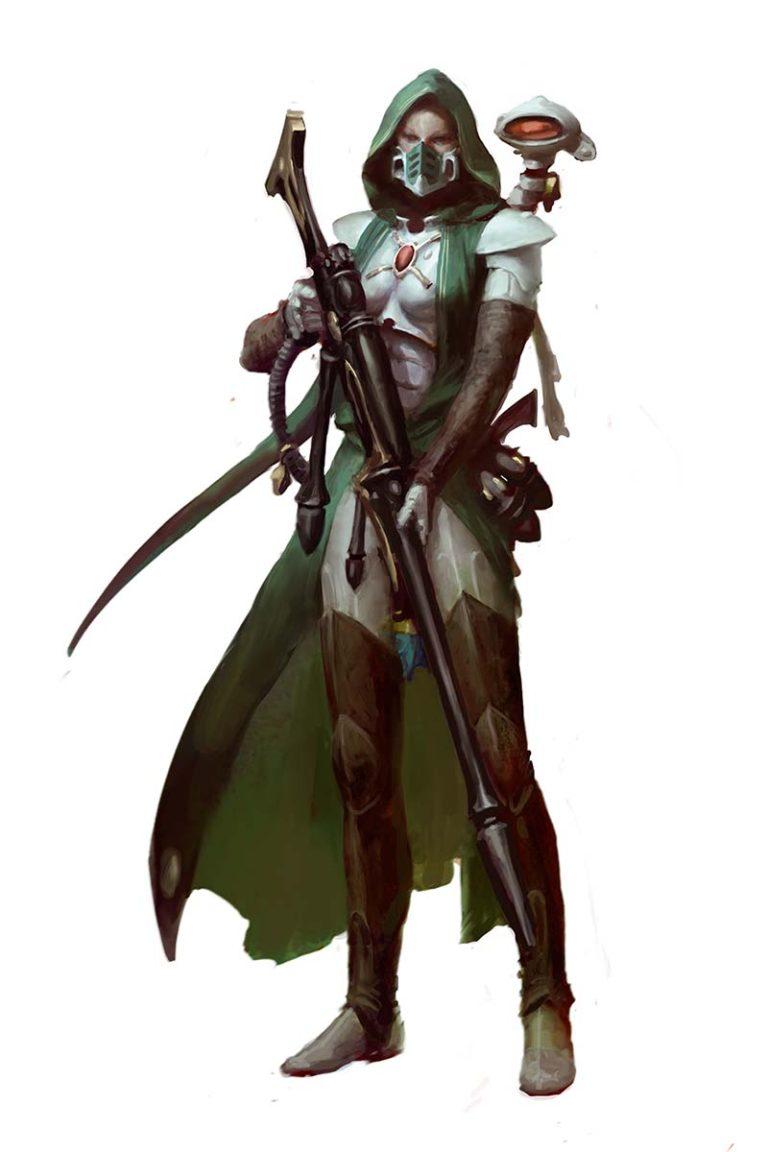 Amallyn Shadowguide, Asuryani Ranger