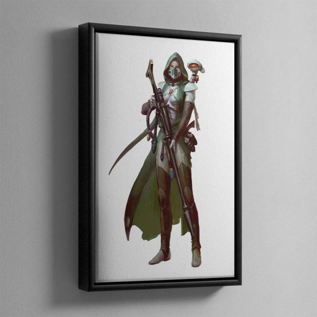 Amallyn Shadowguide, Asuryani Ranger – Framed Canvas