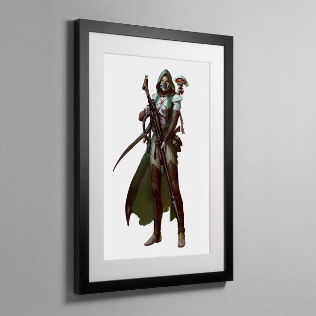 Amallyn Shadowguide, Asuryani Ranger – Framed Print