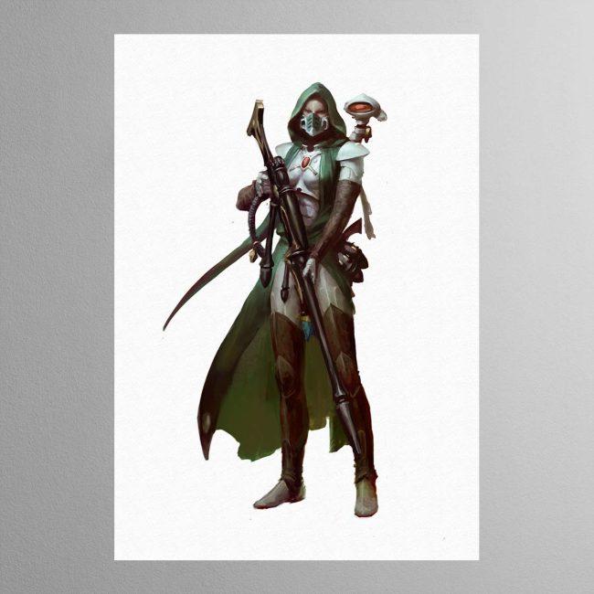 Amallyn Shadowguide, Asuryani Ranger – Print