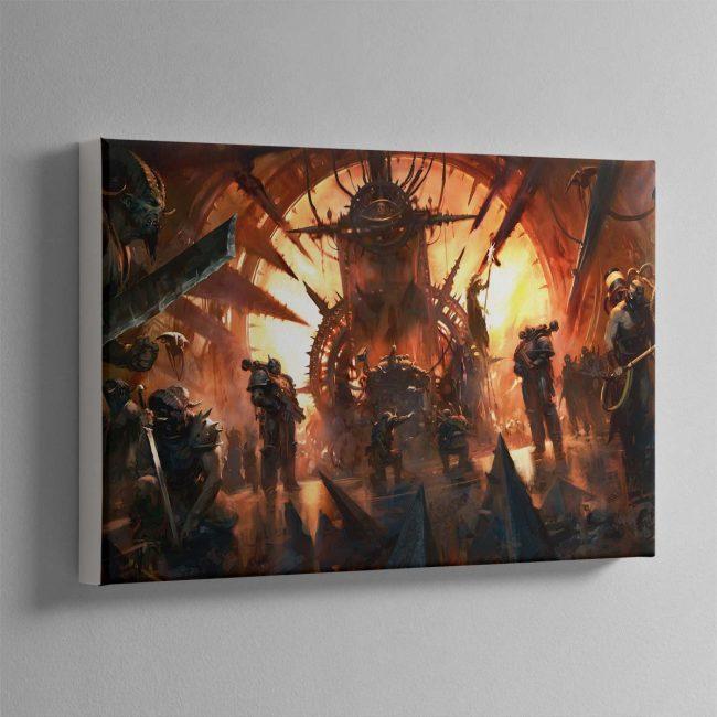 Chaos Throneroom – Canvas