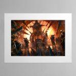 Chaos Throneroom – Mounted Print