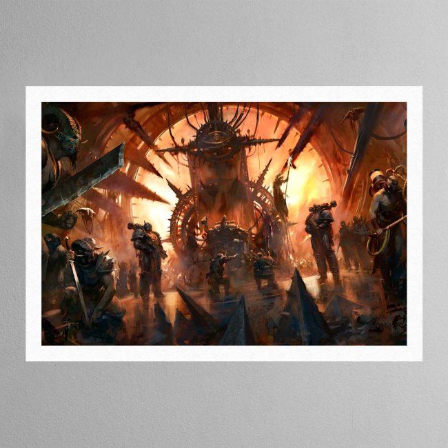 Chaos Throneroom – Print