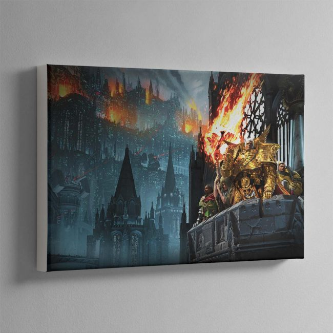 Heralds of the Siege – Canvas