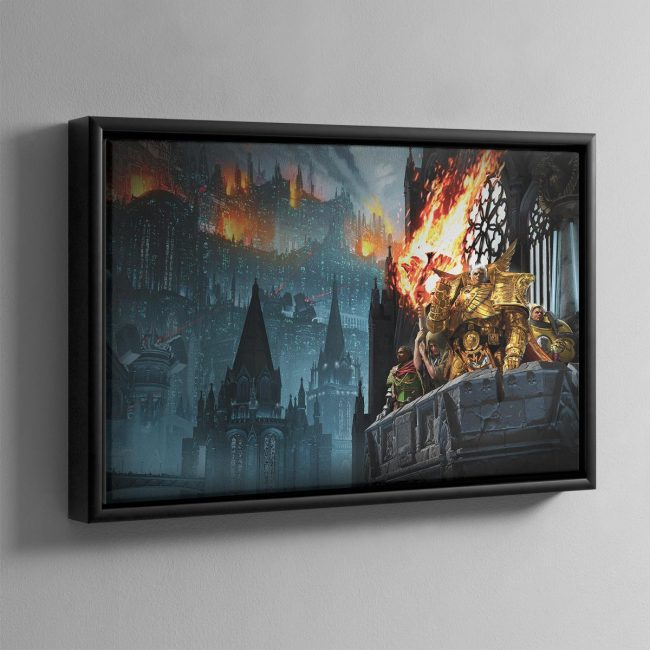 Heralds of the Siege – Framed Canvas