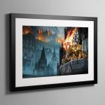 Heralds of the Siege – Framed Print