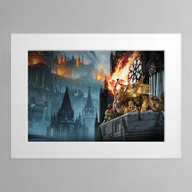 Heralds of the Siege – Mounted Print