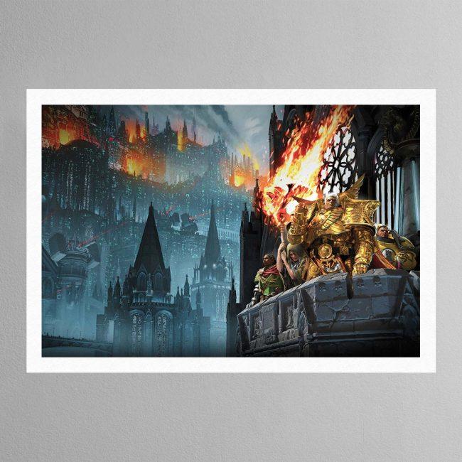 Heralds of the Siege – Print