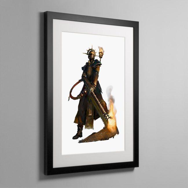 Pious Vorne, Missionary Zealot – Framed Print