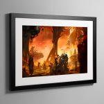 Precipice – Framed Print