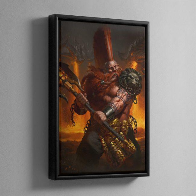 Realmslayer – Framed Canvas