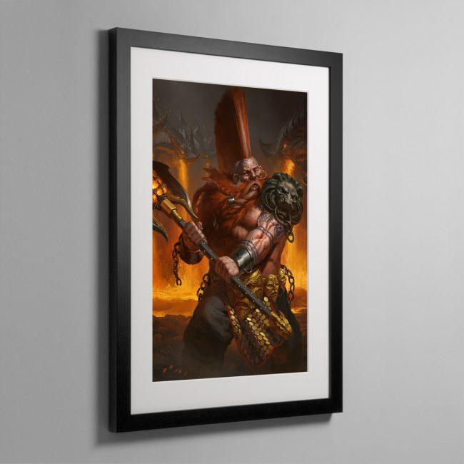Realmslayer – Framed Print