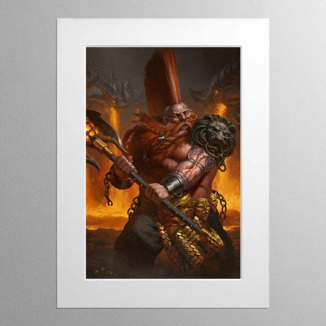 Realmslayer – Mounted Print