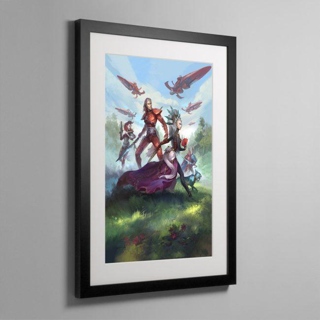 Rise of the Ynnari Wild Rider – Framed Print