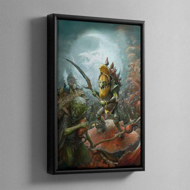 Gloomspite Hordes – Framed Canvas