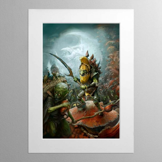 Gloomspite Hordes – Mounted Print