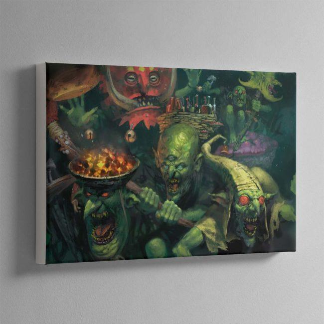 Gobbapalooza – Canvas