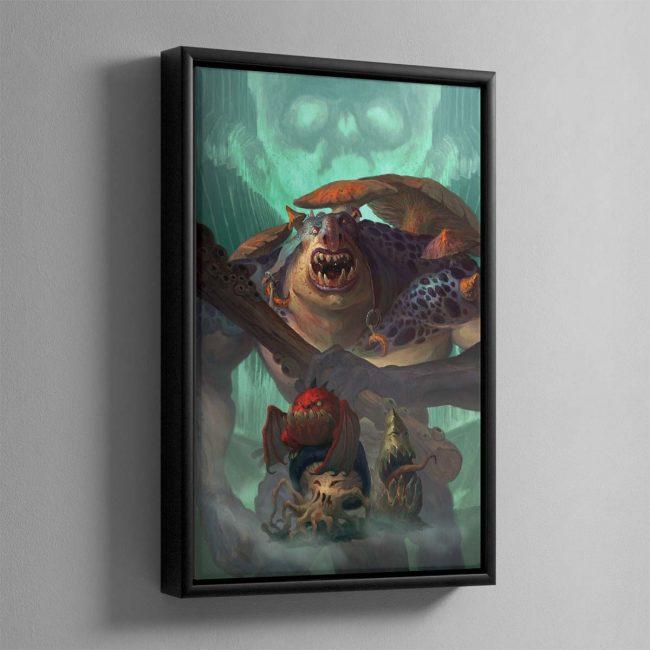 Mollog's Mob – Framed Canvas
