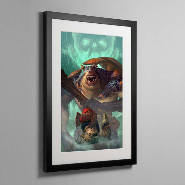Mollog's Mob – Framed Print