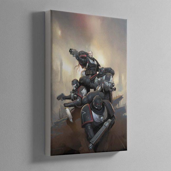 Raven Guard Kill Team – Canvas