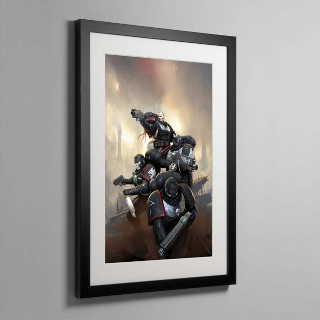 Raven Guard Kill Team – Framed Print