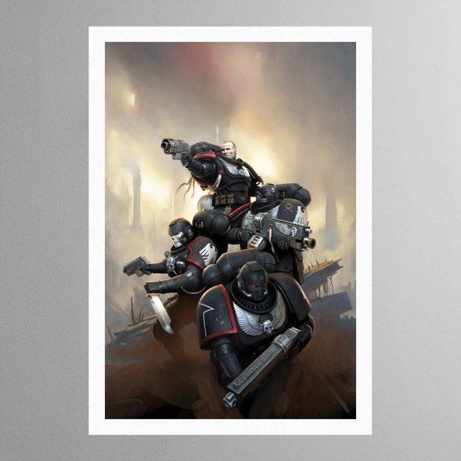Raven Guard Kill Team – Print