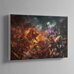 Realm of Chaos Wrath and Rapture – Canvas