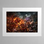 Realm of Chaos Wrath and Rapture – Mounted Print