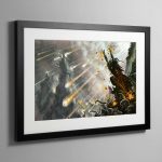 Skagrott the Loonking – Framed Print