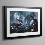 Skitarii vs Genestealer Cults – Framed Print