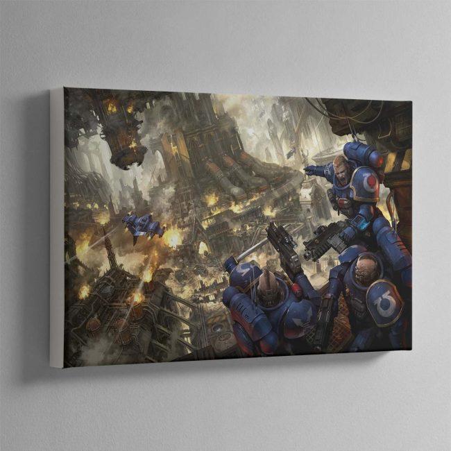 Urban Conquest – Canvas