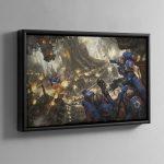 Urban Conquest – Framed Canvas
