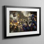 Urban Conquest – Framed Print