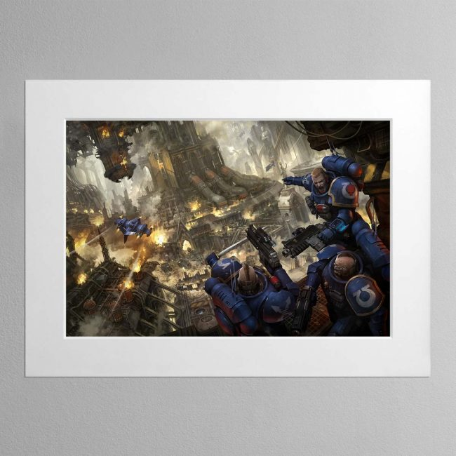 Urban Conquest – Mounted Print