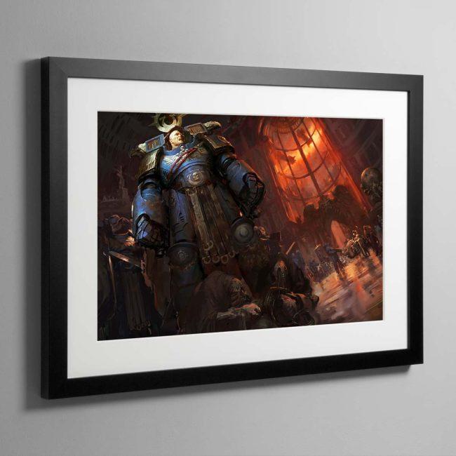 Calgar Arrives – Framed Print