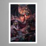 Morathi, The Shadow Queen – Print