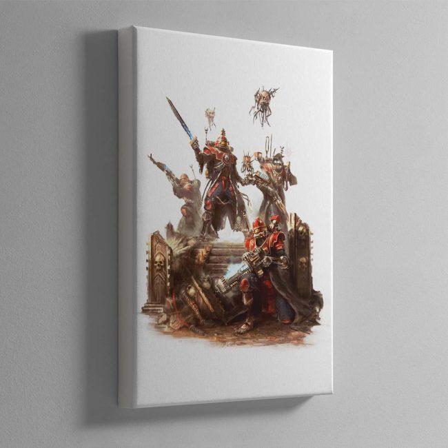 Skitarii Vanguard – Canvas
