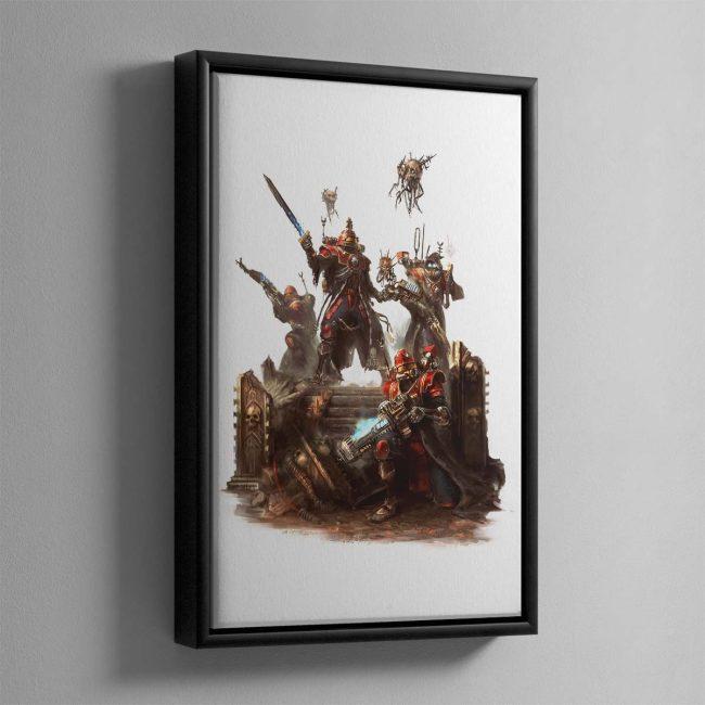 Skitarii Vanguard – Framed Canvas