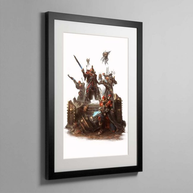 Skitarii Vanguard – Framed Print
