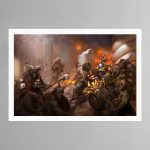 The Beasts of Chaos Gather- Print