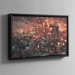 War of Nightmares – Framed Canvas
