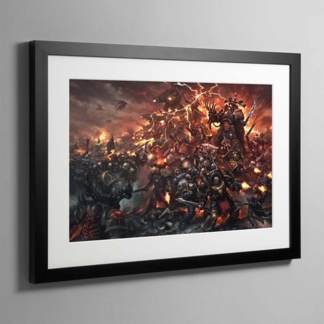 War of Nightmares – Framed Print