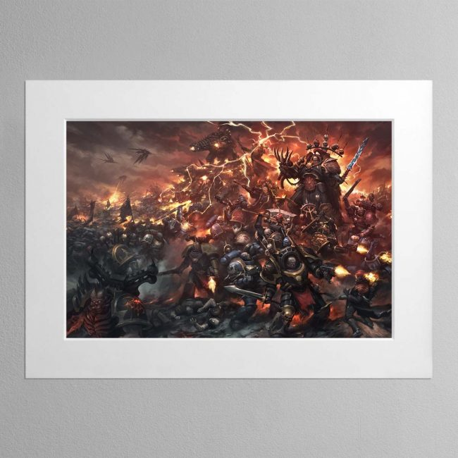 War of Nightmares – Mounted Print