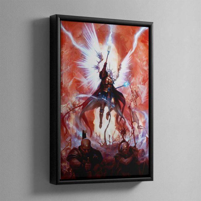 Celestant-Prime – Framed Canvas