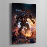 Chaos Knight Codex cover art 2019 – Highline