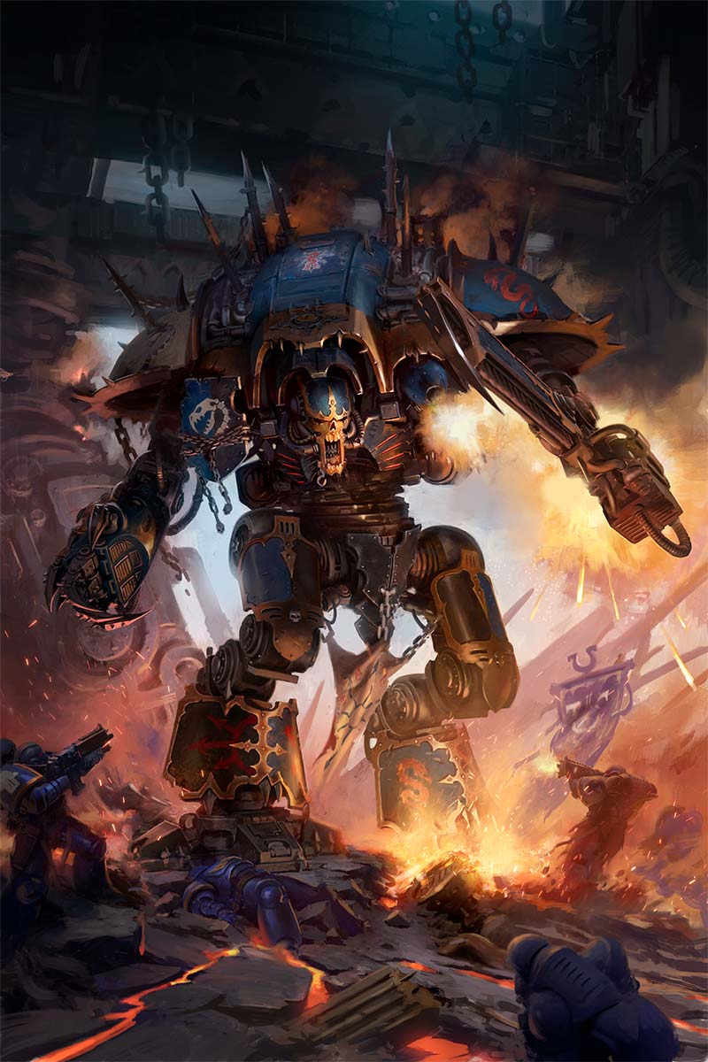 Chaos Knight Codex cover art 2019