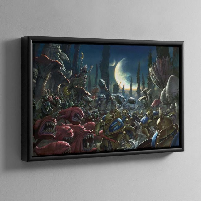 Gloomspite Gitz – Framed Canvas